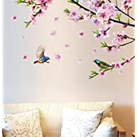 AAPBB Beautiful Chinese Style Peony Flower Wall Sticker. Chinese Style Peony Flower Wall Stickers TV Background Wall…