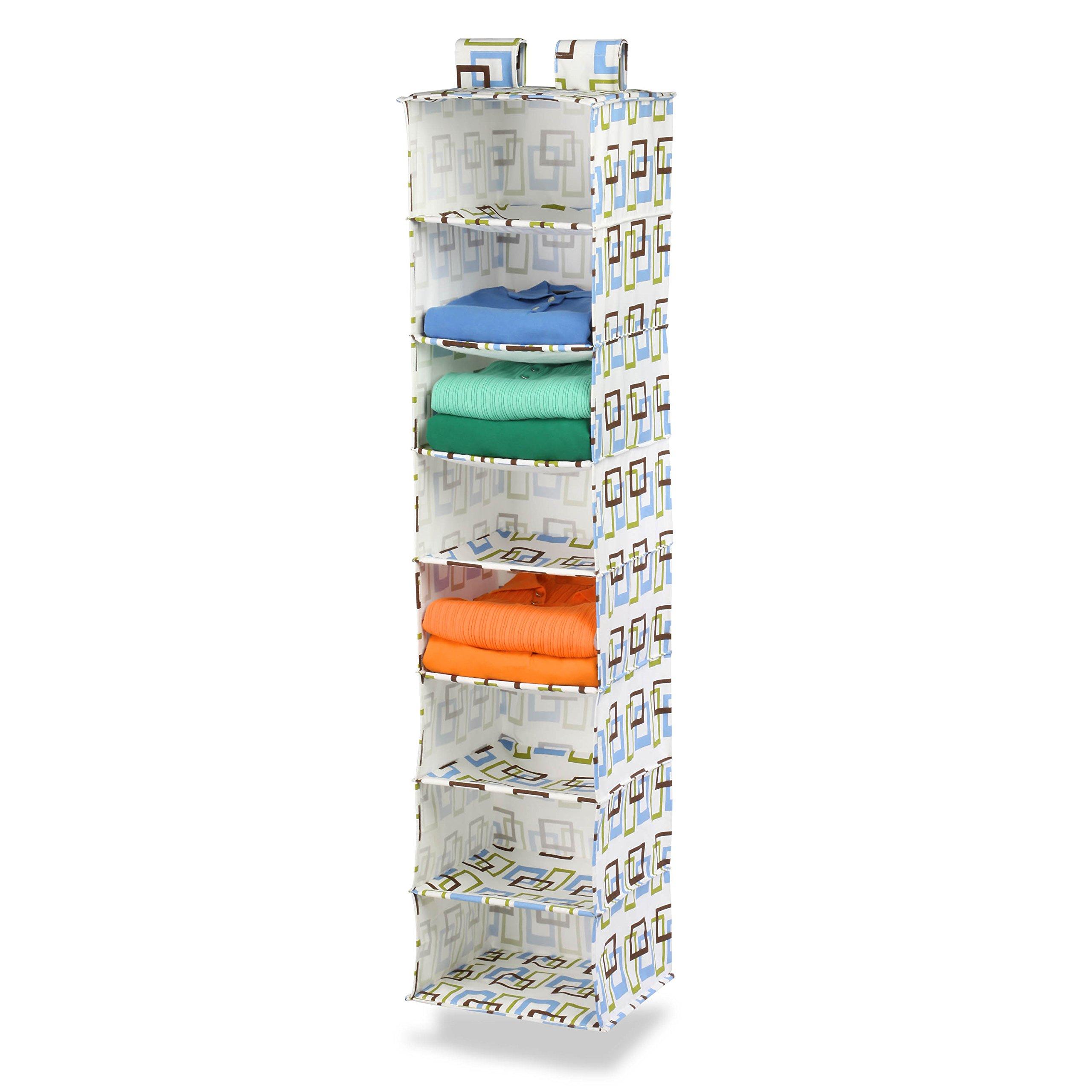 Honey-Can-Do SFT-01570 8 Shelf Hanging Organizer (Brown/Green)