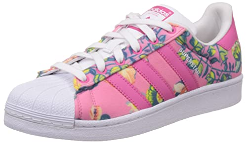 adidas Superstar W, Scarpe Low-Top Donna, Raypnk/Ftwwht, 36 2
