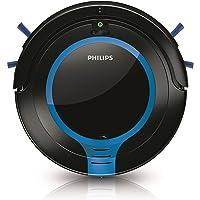 Philips FC8700/01 SmartPro Compact Staubsauger-Roboter, Schwarz/Blau