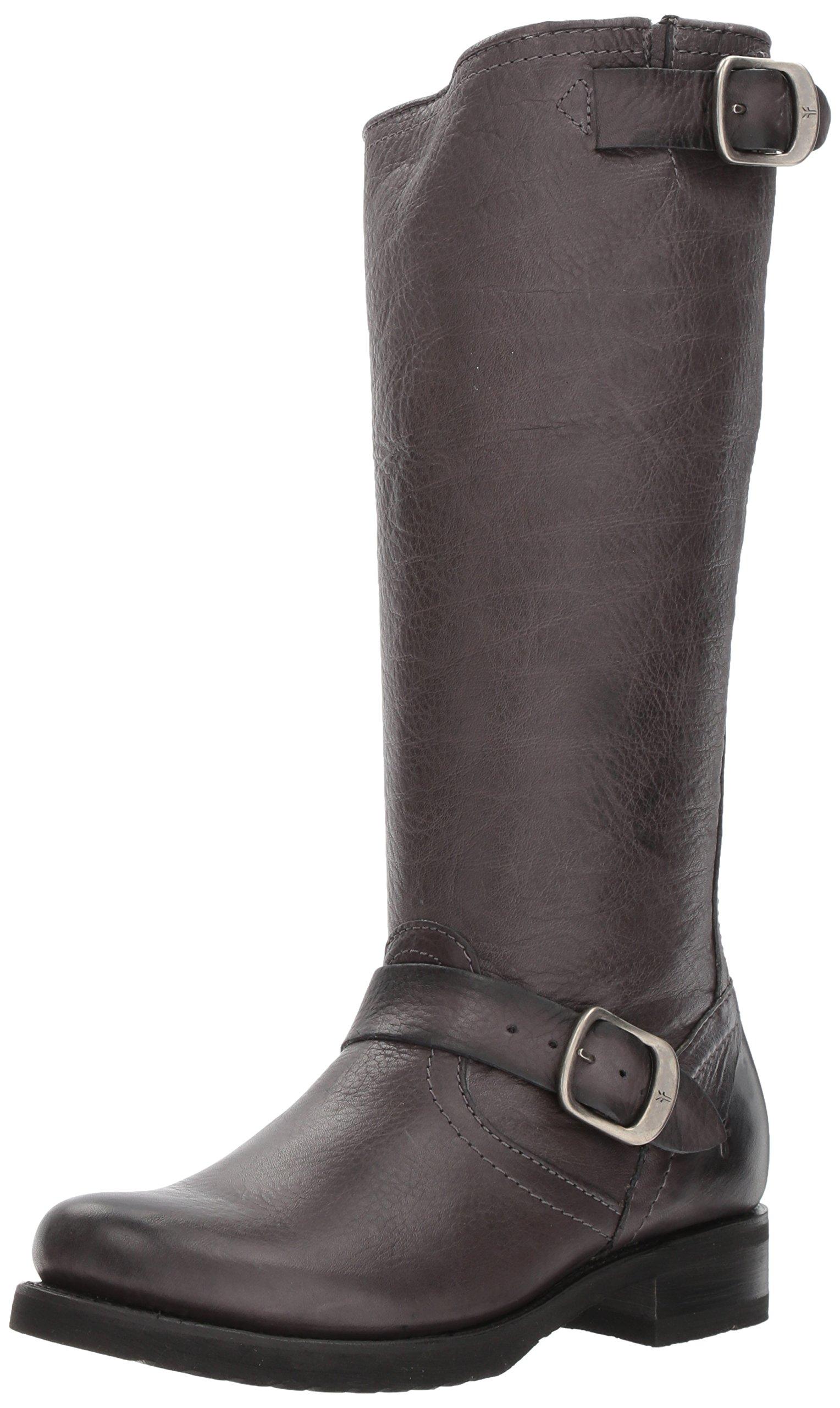 FRYE Women's Veronica 2 Slouch Boot, Smoke, 7.5 M US