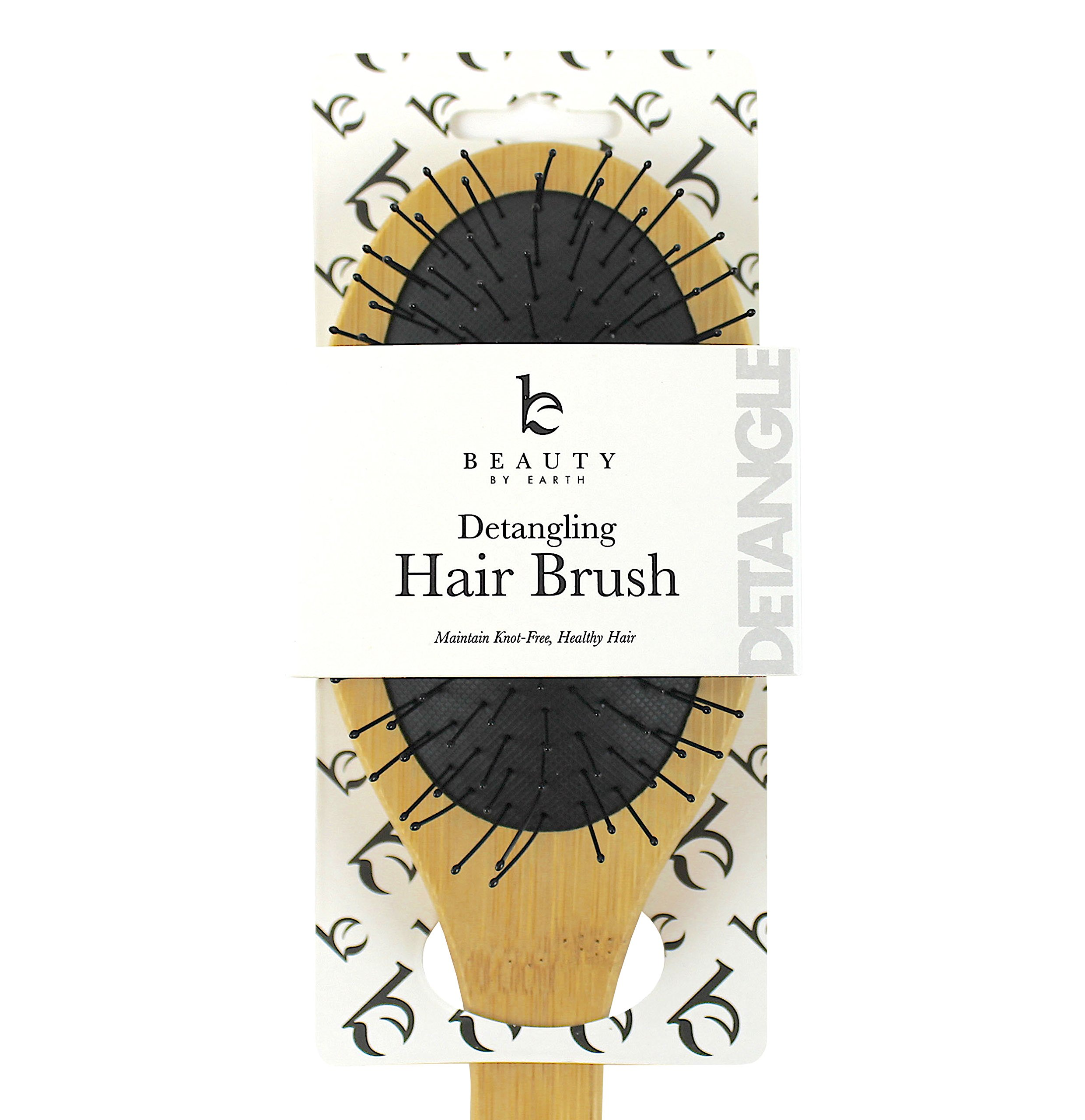 Detangling Brush; Natural Detangler Comb for All Hair Types to Detangle and Smooth Knots Easily; Best or for Dry Hair Styling, Straightening and No Pain Glide Thru; Men, Women and Kids