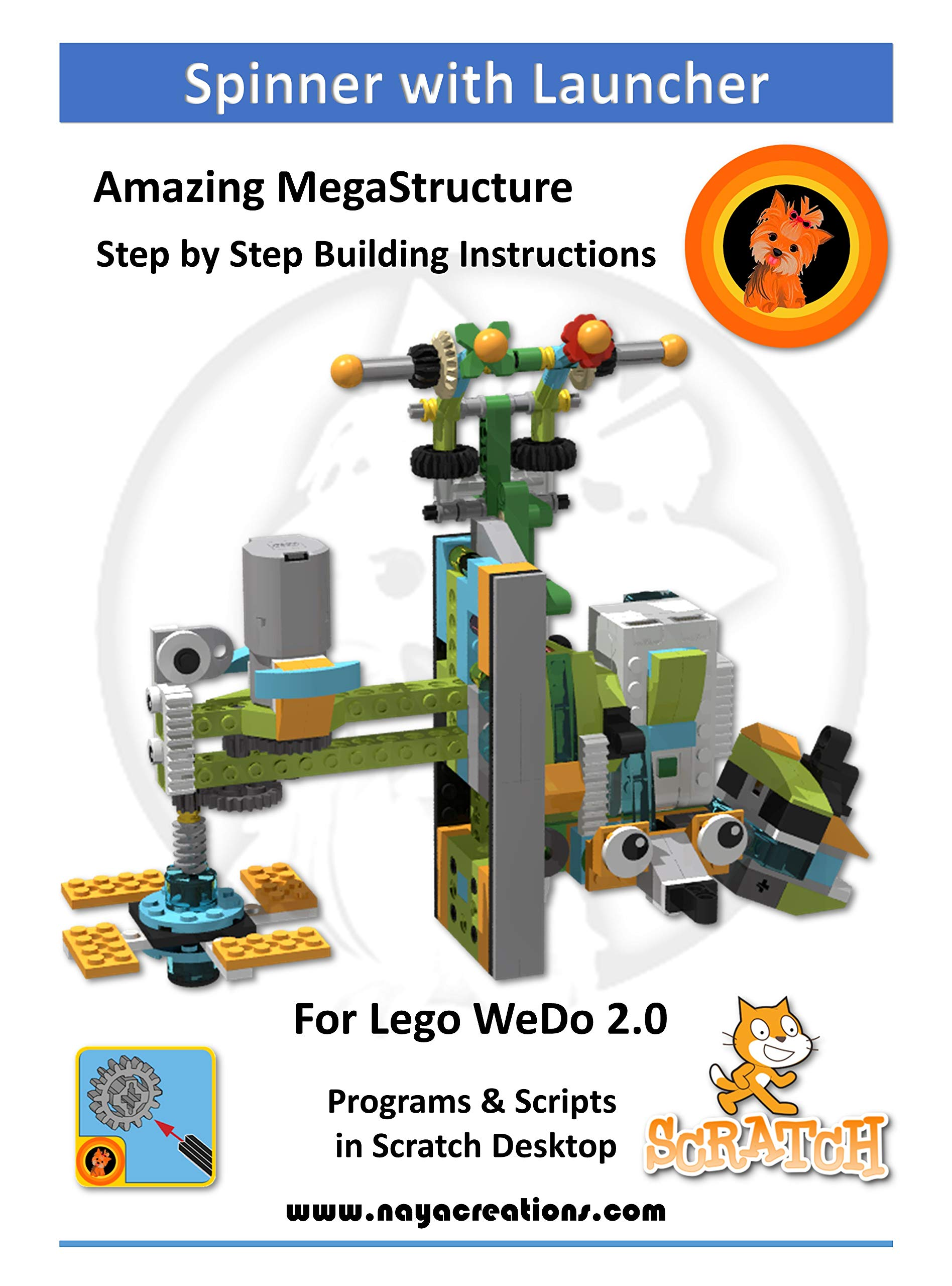 Spinner with Launcher: Model and project for Lego WeDo 2.0 (English Edition)