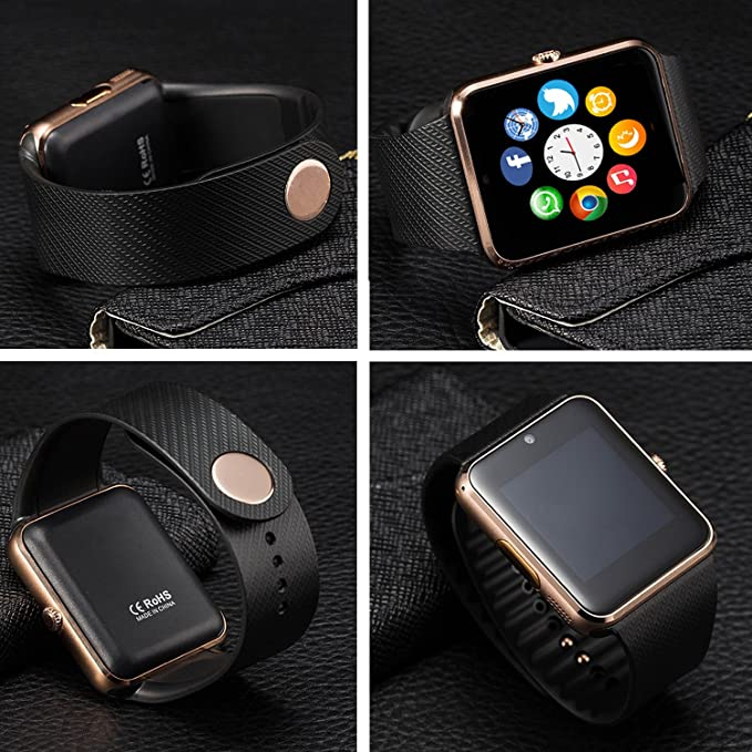 Smart Watch,Luluking YG8 Plus Sweatproof Smart Watch Phone for Android Samsung S5 S6 Note 4 5;HTC Sony LG and iPhone 5 5S 6 6 Plus 7 Smartphones (YG8 ...