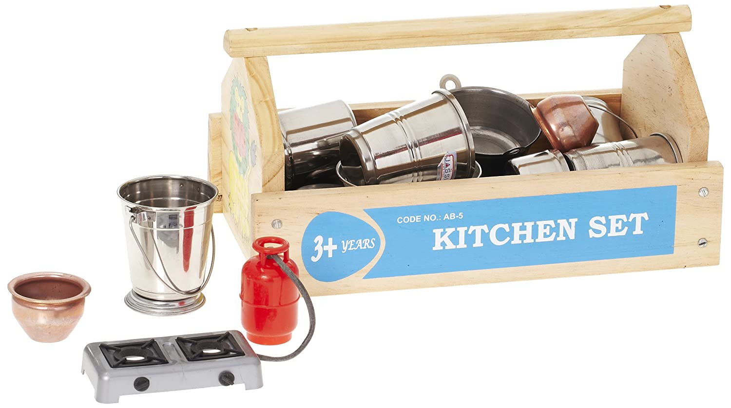 Buy little genius kitchen set multi color online at low prices in india amazon in