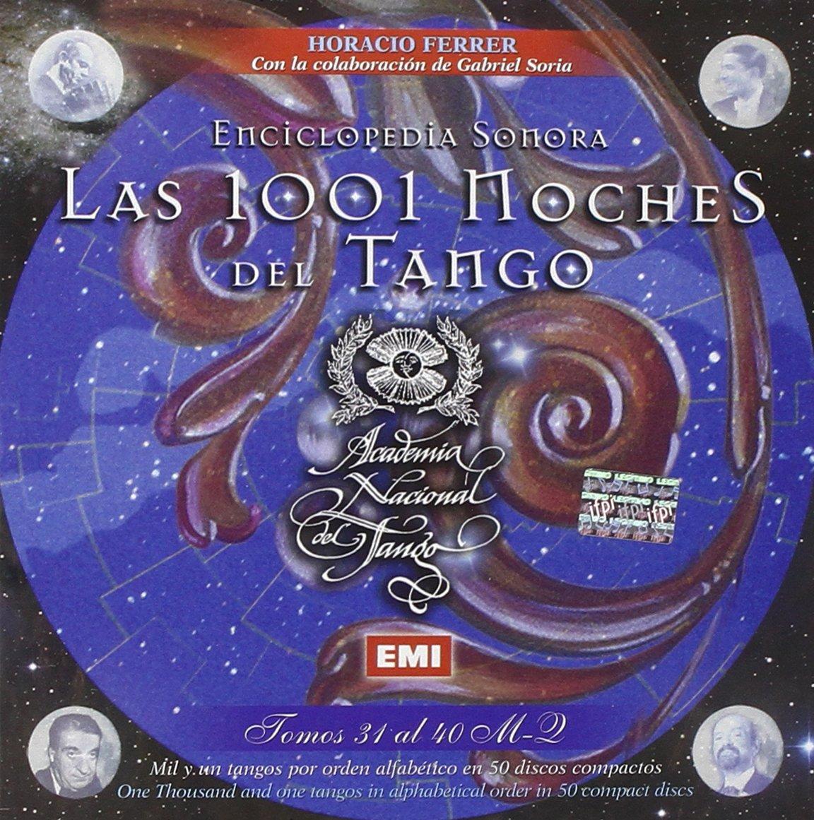 Enciclopedia Sonora-Las 1001 Noches Del Tango-Set - Las 1001 Noches Del Tango- Set 4 - Amazon.com Music