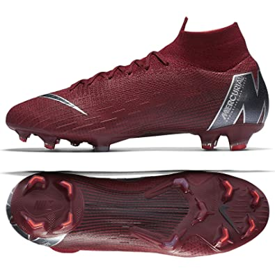 new product 34a54 47bed Nike Superfly 6 Elite FG, Chaussures de Futsal Mixte Adulte, Multicolore  (Team Red