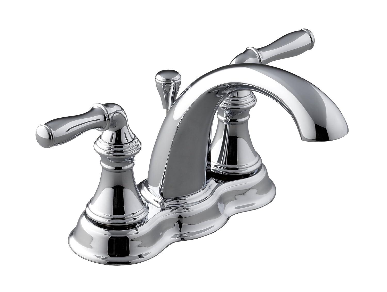 KOHLER K-393-N4-BN Devonshire Centerset Lavatory Faucet, Vibrant ...