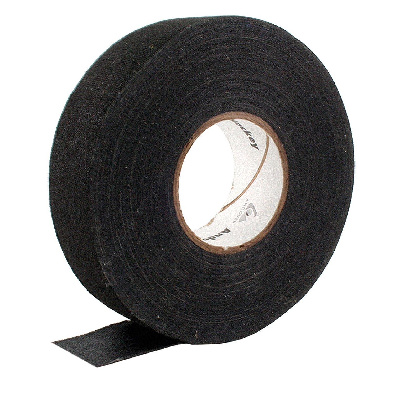 NORTH AMERICAN Tape 24mm x 25m Raquette de Hockey sur Glace Tape Lot de 3, Mixte, Tape 24mm x 25 m - 3er Pack Schwarz 24 mm BAUE6|#Bauer 82408