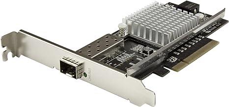 StarTech.com 10G Network Card - MM/SM - 1x Single 10G SPF+ Slot - Intel 82599 Chip - Gigabit Ethernet Card - Intel NIC Card (PEX10000SFPI)