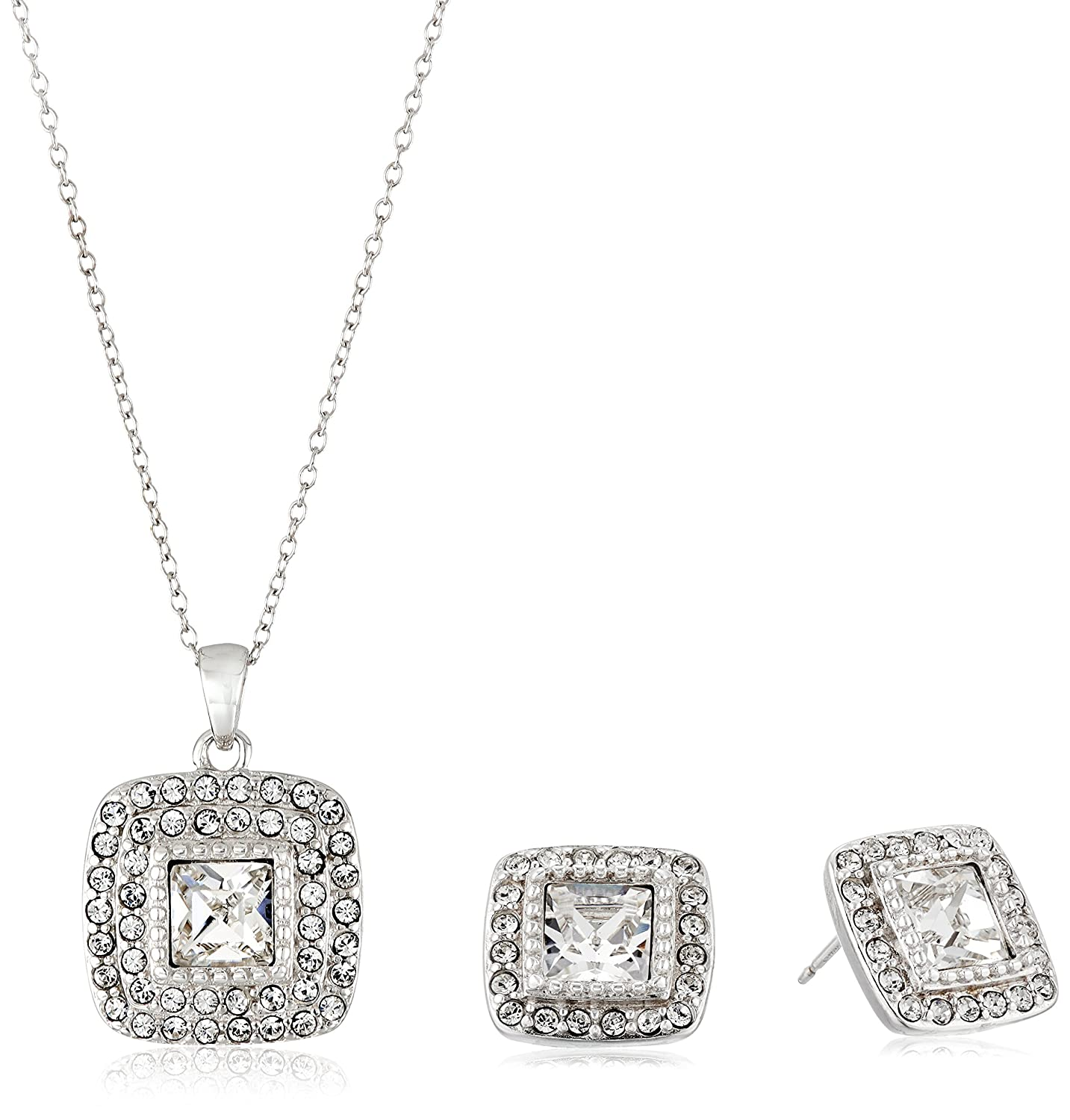 k canada t princess tw white square earrings walmart carat ip stud miabella gold diamond solitaire cut en w