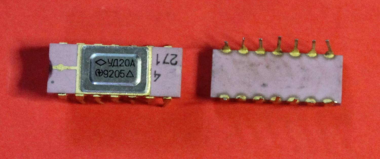 IC Microchip 140UD20A analogue A747 USSR 1 pcs