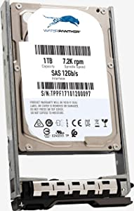 """1TB 7.2K RPM SAS 12Gb/s 2.5"""" HDD for Dell PowerEdge Servers 