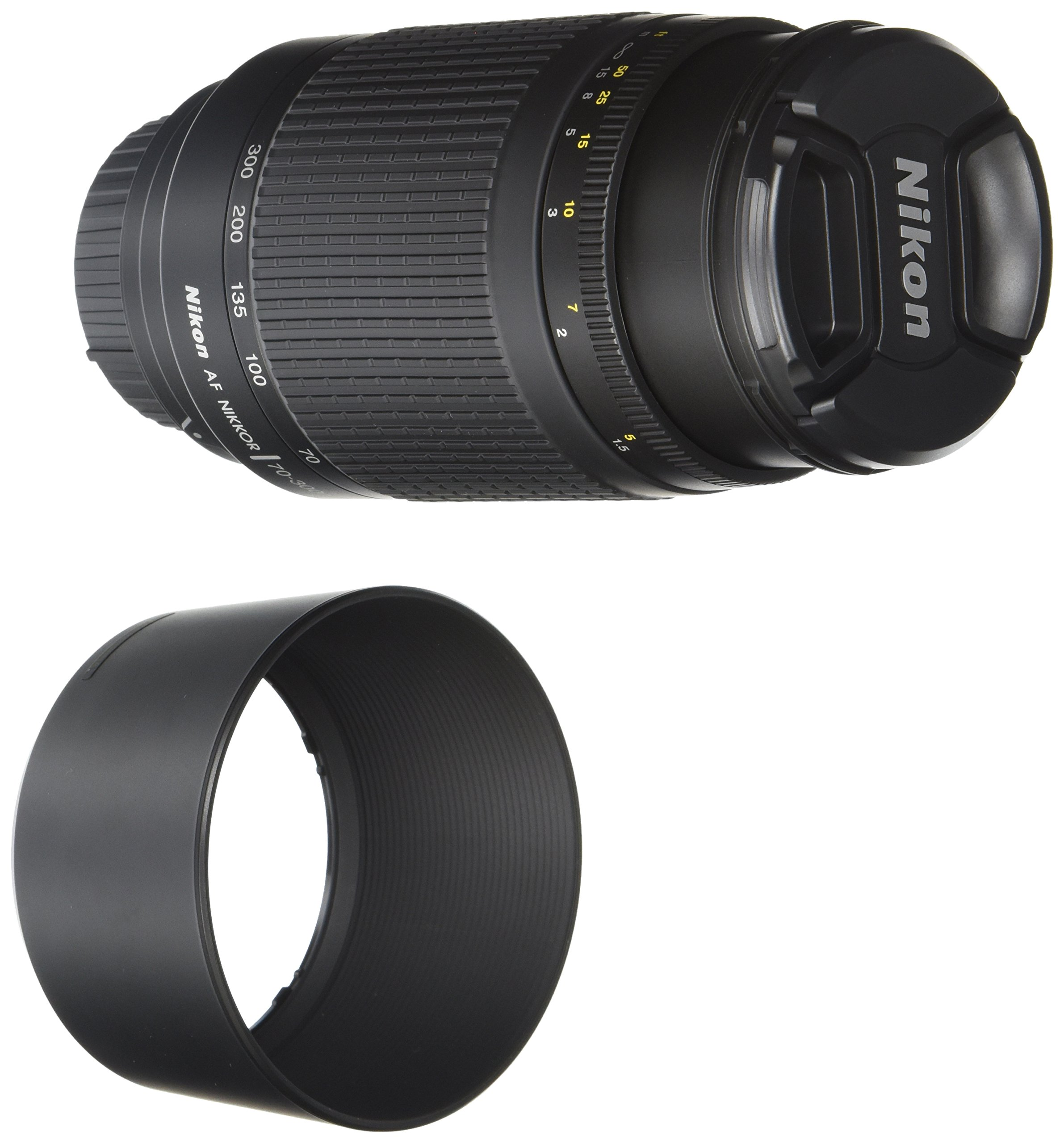 Nikon 70-300 mm f/4-5.6G Zoom Lens with Auto Focus for Nikon DSLR Cameras by Nikon