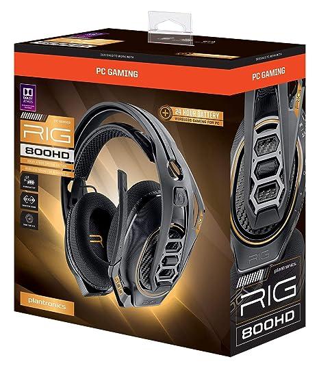 Amazon.com: Plantronics Gaming Headset, RIG 800HD Wireless ...