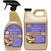 Granite Gold Clean and Shine Spray and Refill Value Pack - Streak-Free Deep Cleaning & Polishing of Granite, Marble, 2…