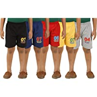 KIDDY STAR Cotton Boy's Shorts(Pack of 5)