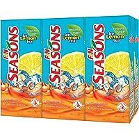 Seasons Ice Lemon Reduced Sugar Tea, 250ml (Pack of 6)