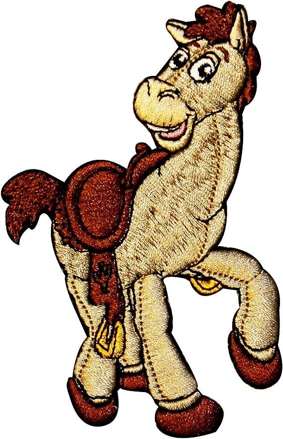 Diana de Disney Toy Story Woody de caballo Pixar película hierro en Applique Patch: Amazon.es: Hogar