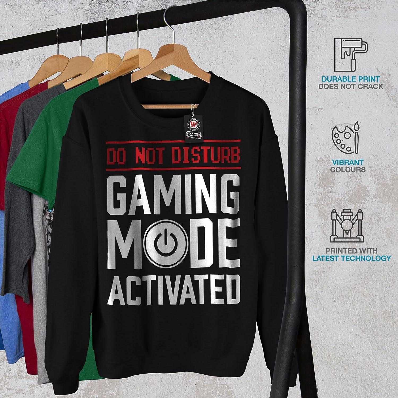 Funny Casual Jumper wellcoda Gaming Mode On Mens Sweatshirt