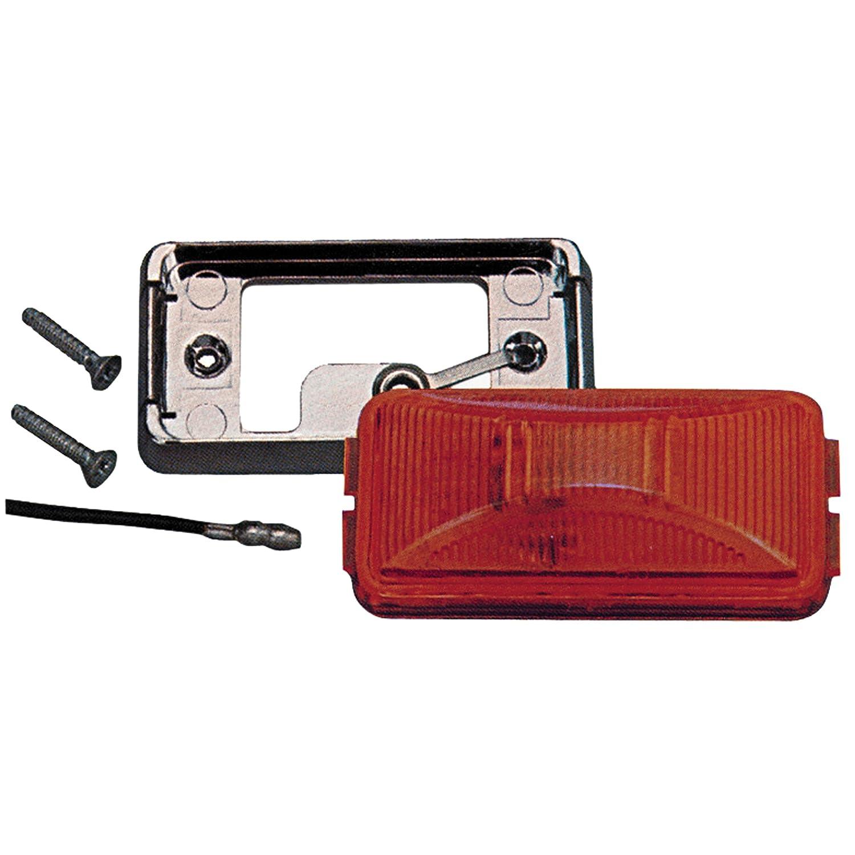 Anderson E150KR Boat Trailer Side Marker Light Kit Red