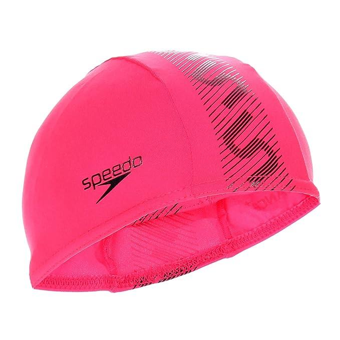 Speedo Mens Monogram Endurance Plus Swim Cap