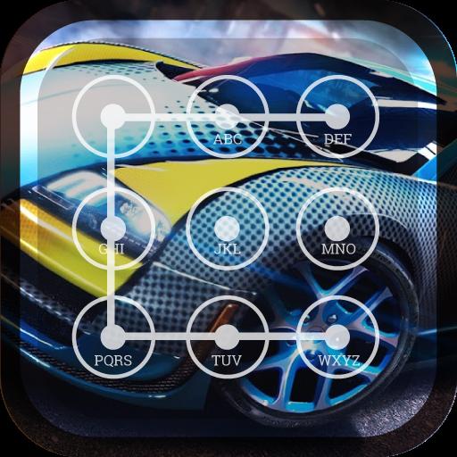 Racing Car Lock Screen Super Car Wallpaper Passcode