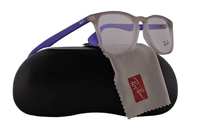 c724931a63 Image Unavailable. Image not available for. Colour  Ray Ban RX7074  Eyeglasses 50-18-145 Violet Gradient Rubber White 5600 RB 7074