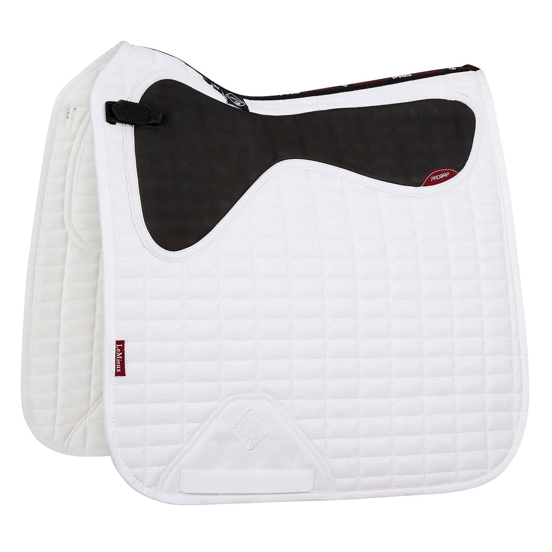 LeMieux Progrip Non Slip Mesh Air Dressage Square Saddlepad Black Large 7803