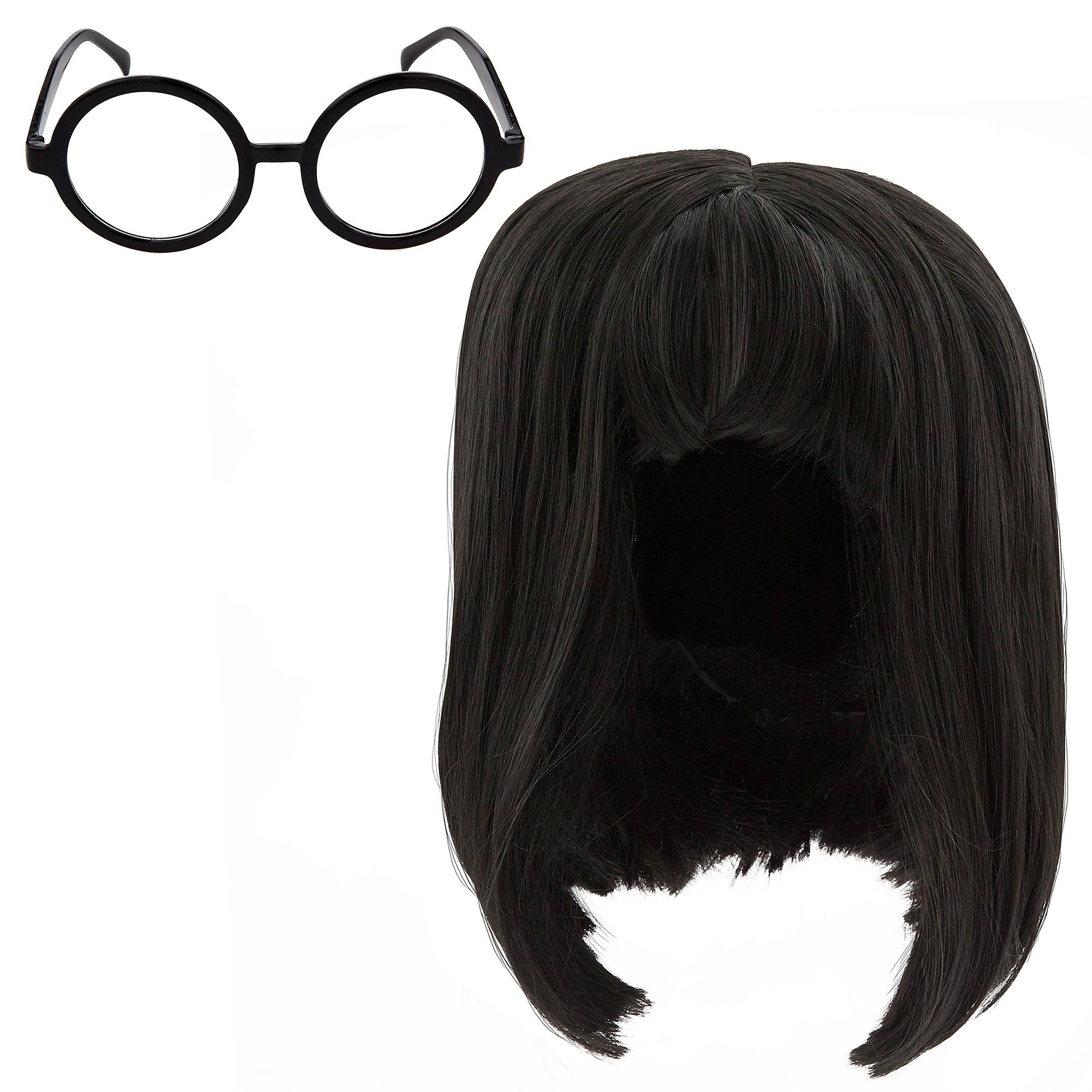 Disney Edna Mode Wig and Eyeglasses Set for Adults - Incredibles 2 Multi