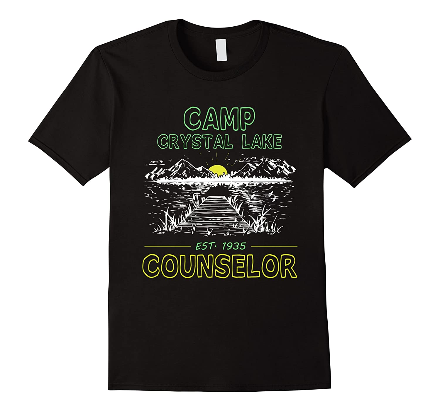 Crystal Lake Counselor est. 1935 Shirt - Outdoor Camp Style-T-Shirt
