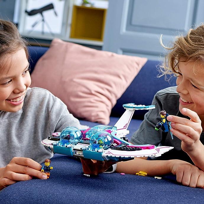 LEGO 乐高 70849 大电影系列 狂野妹—甜美梅亨星际战机 积木玩具 6.4折$31.99 海淘转运到手约¥253