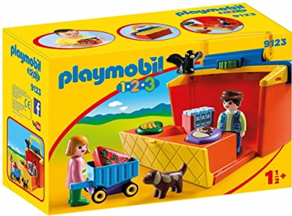 PLAYMOBIL® Take Along Market Stall Building Set