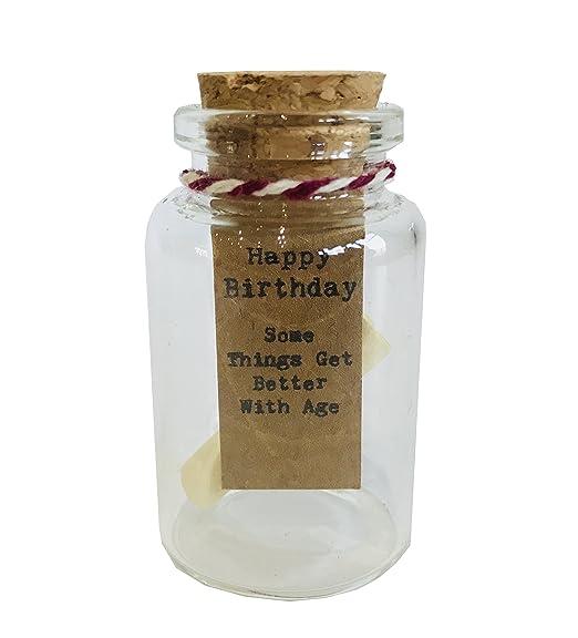Feliz cumpleaños - algunas cosas mejor con la edad - Jarra ...