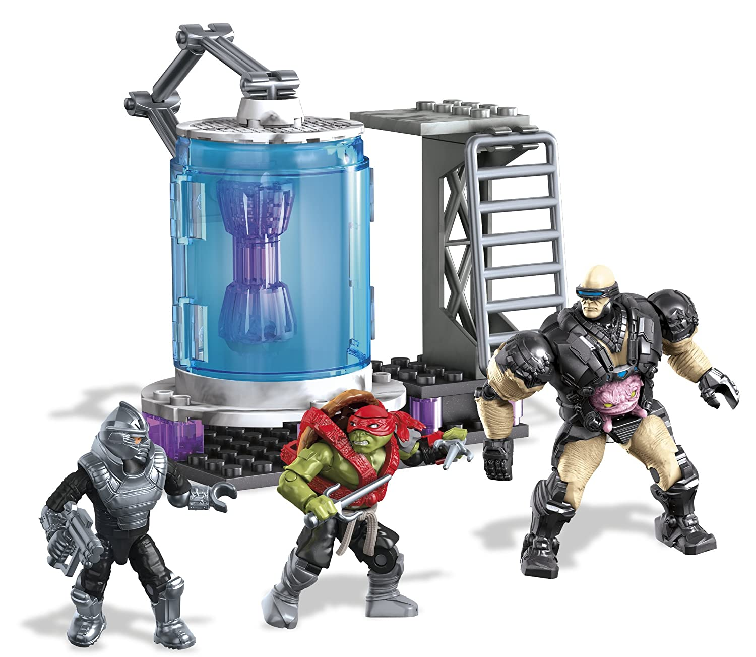 Amazon.com: Mega Bloks Teenage Mutant Ninja Turtles Kraang Cryo ...