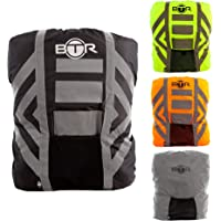 BTR Waterproof High Visibility Backpack Cover. High Viz Rucksack Cover With Reflective Tape