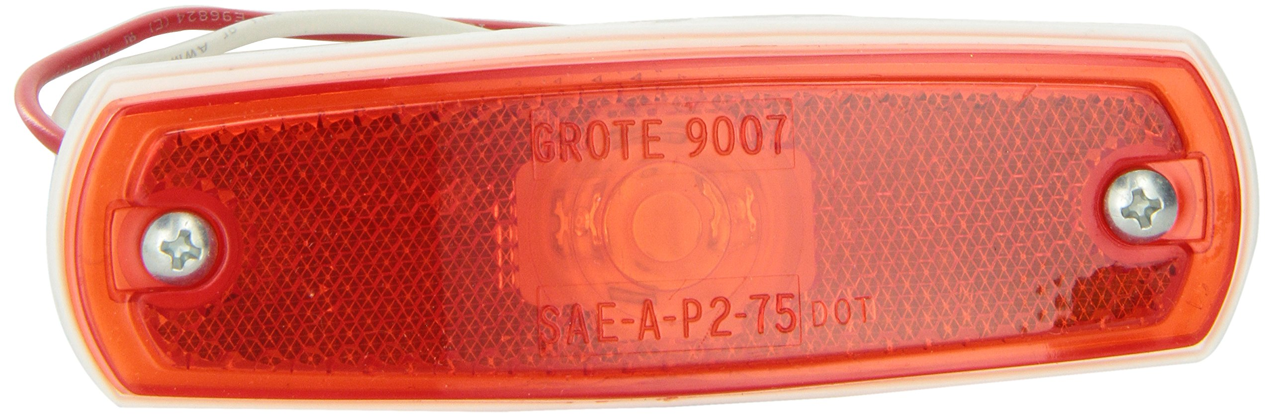 Grote 47262 Red SuperNova Low-Profile LED Clearance Marker Light (out Bezel)