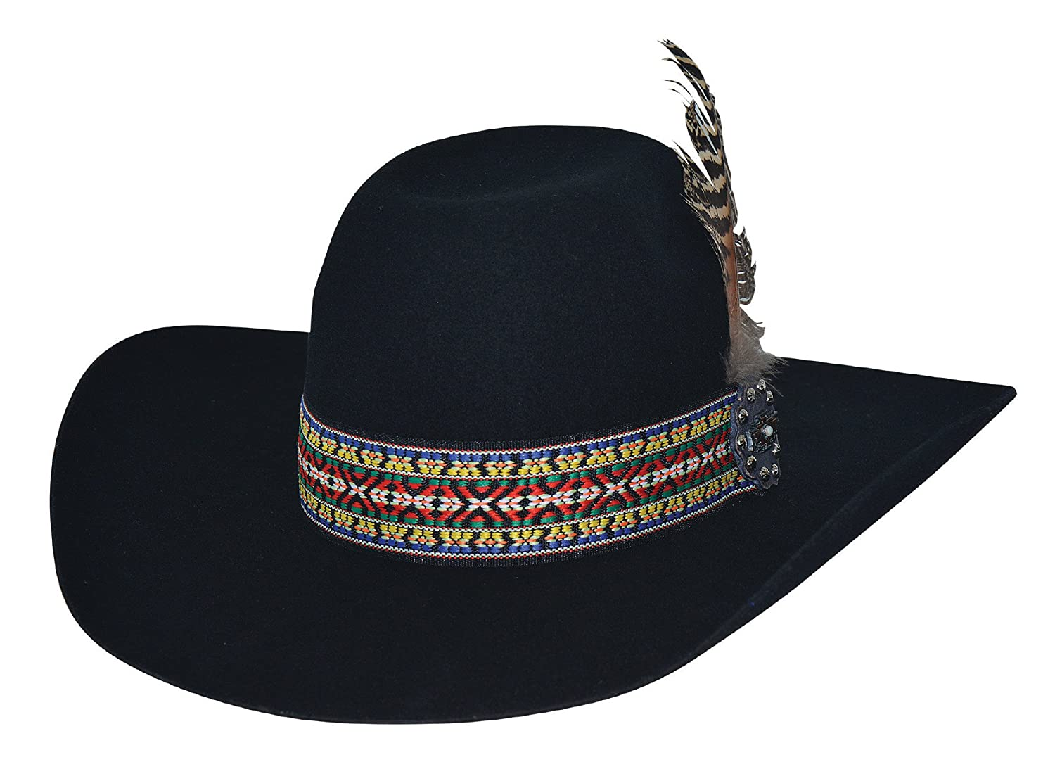 2a3c07a5baa13 Bullhide Feather Dance Cowboys and Indians Hat 0771BL at Amazon Women s  Clothing store