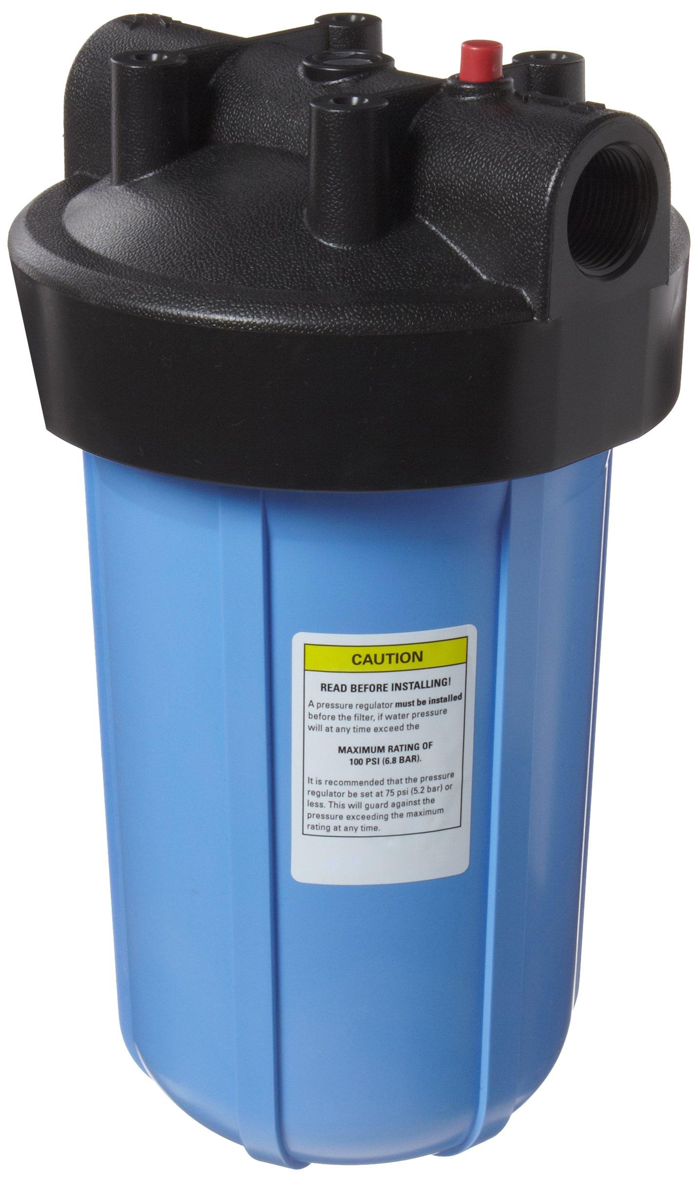 Pentek 150237#10 Big Blue Filter Housing, 1'' Female NPT Inlet/Outlet