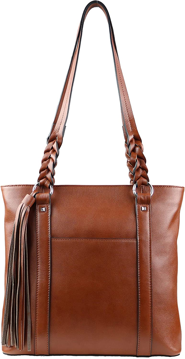 Concealed Carry Bella Leather Tote by Lady Conceal