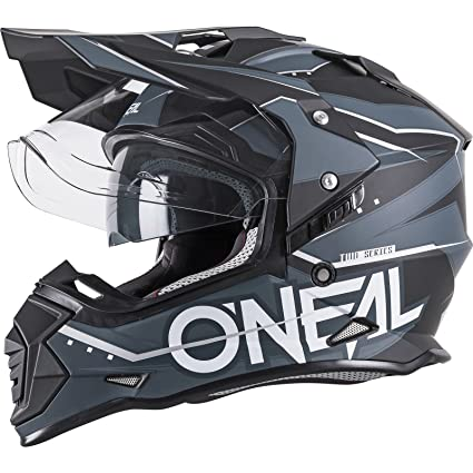 ONeal Sierra II Mens Full-Face Slingshot Helmet (Black, Small)