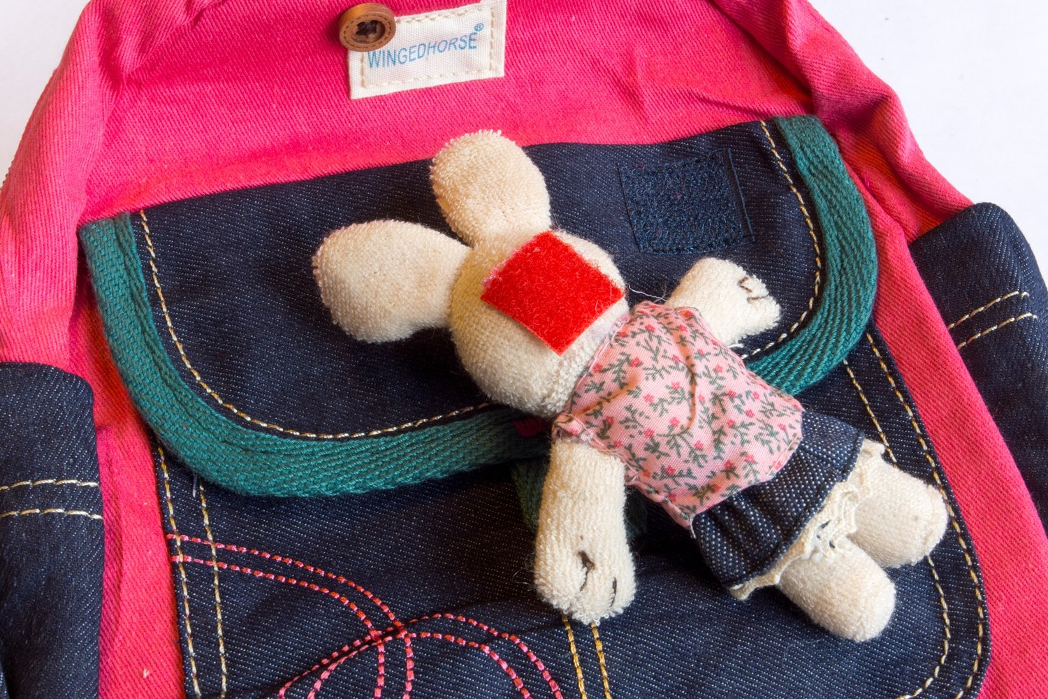 Kid Toddler Walking Safety Harness with Cute Teddy Bear/Bunny Backpack - Sold and Ship From USA (Pink Bunny)
