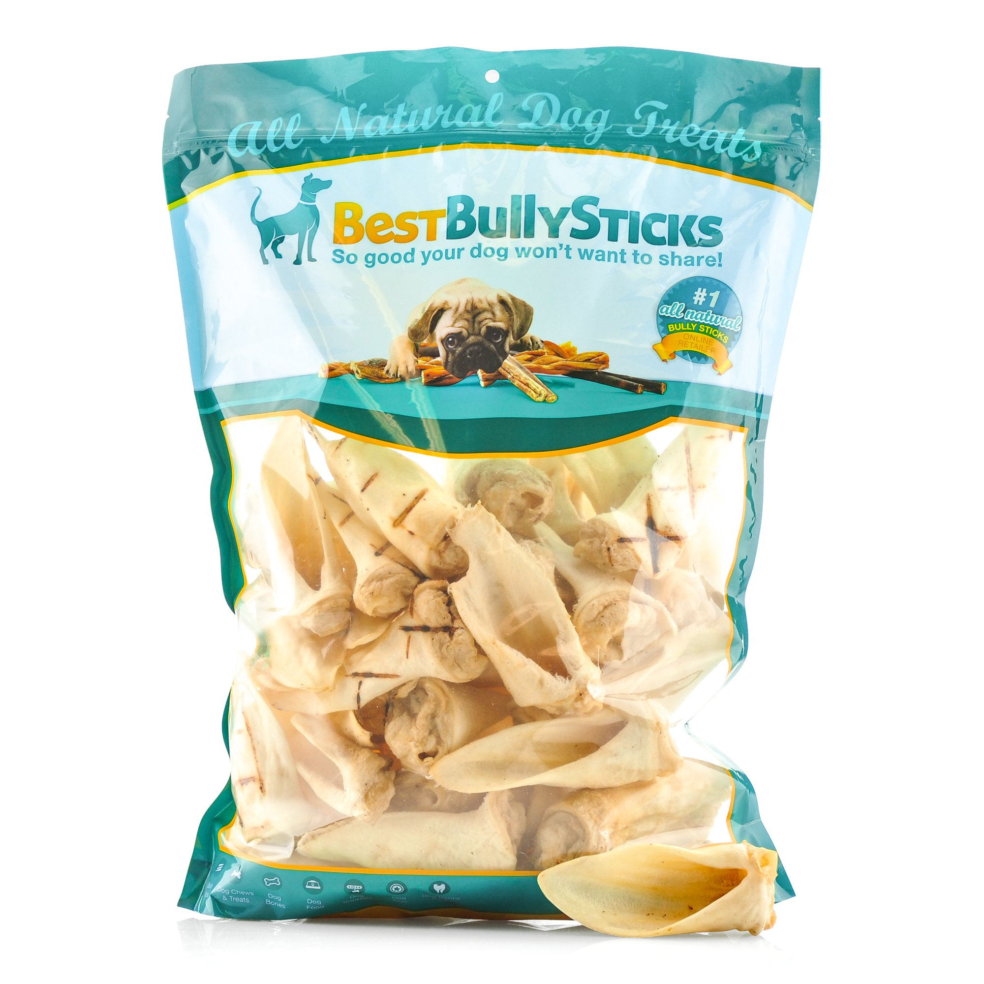 Best Bully Sticks Premium Lamb Ear Dog Treats by (1.5 Pound Value Pack)