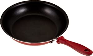 Farberware Dishwasher Safe High Performance Nonstick 11-Inch Big Skillet, Red