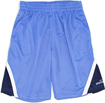 Basketball Soccer Sports Wear Spalding Boy/'s Athletic Gym Shorts with Pockets Teen Sizes