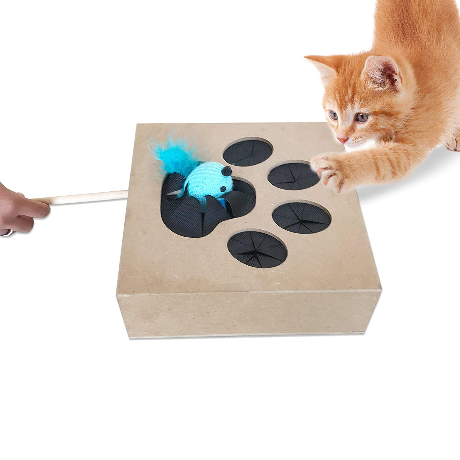 Amazon.com: Abrazos Pet Productos Whack un mouse ...