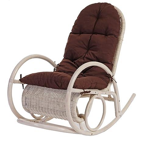 Silla mecedora Esmeraldas, silla giratoria, silla de mimbre ...