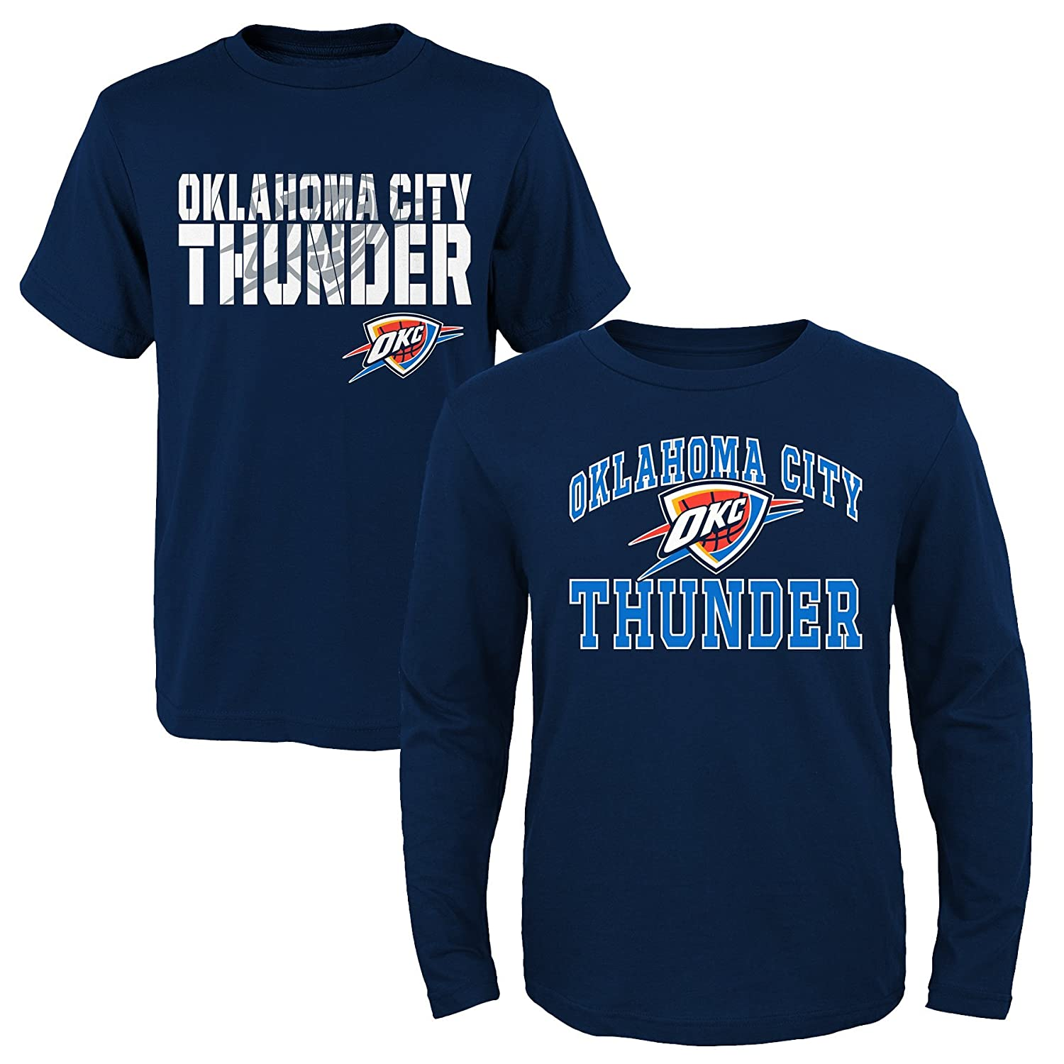 最安値で  NBA Youth Boys 8 Oklahoma – 8 Thunder 20 Thunder 2piece Long &半袖Tシャツセット Large Oklahoma City Thunder B01LZUJ94M, 名寄市:ef9d952f --- a0267596.xsph.ru