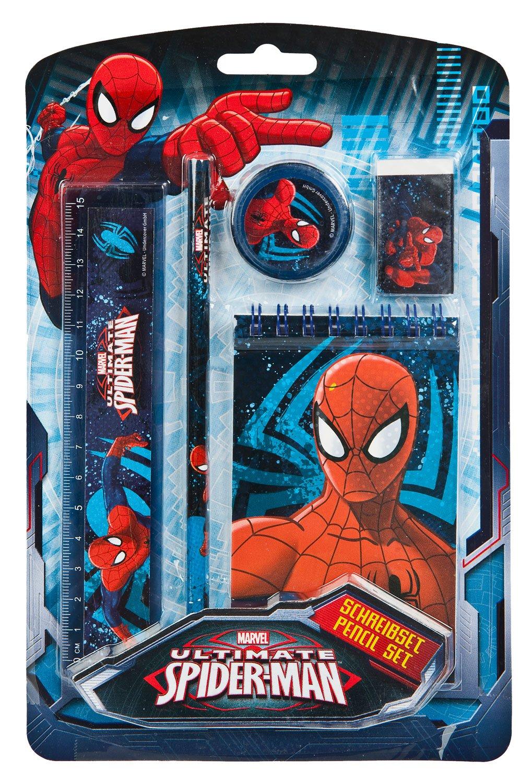 Undercover spju0210 –  Set d'é criture, Marvel Spider-Man, 5 piè ces 5pièces Undercover GmbH