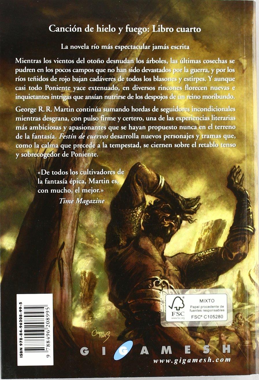 Festin de Cuervos. Canción de Hielo y Fuego. Libro Cuarto ...